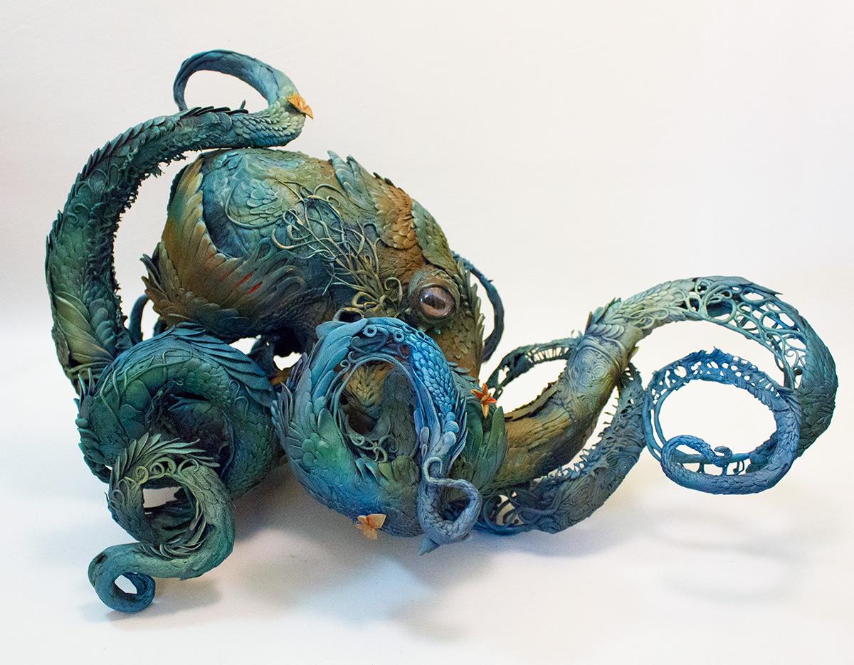 Ellen Jewett-umetnica nadrealnih skulptura! 912